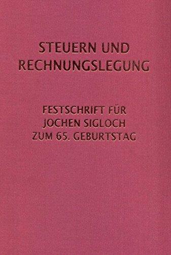 Steuern und Rechnungslegung: Thomas Egner