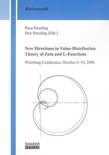 New Directions in Value-Distribution Theory of Zeta and L-Functions: Rasa Steuding