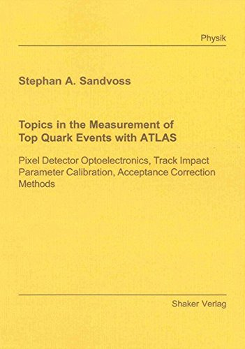 Topics in the Measurement of Top Quark Events with ATLAS: Stephan A. Sandvoss