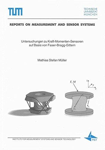 9783832289607: Untersuchungen zu Kraft-Momenten-Sensoren auf Basis von Faser-Bragg-Gittern