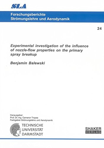 Experimental investigation of the influence of nozzle-flow properties on the primary spray breakup:...