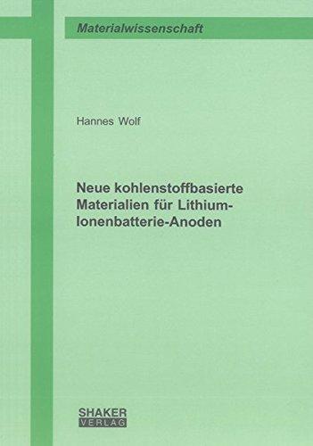 Neue kohlenstoffbasierte Materialien für Lithium-Ionenbatterie-Anoden: Hannes Wolf
