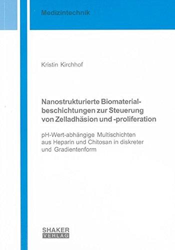 Nanostrukturierte Biomaterialbeschichtungen zur Steuerung von Zelladhäsion und -proliferation:...