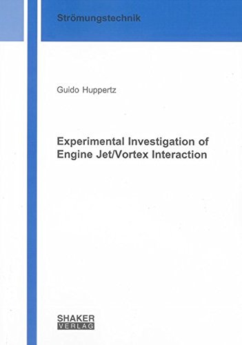Experimental Investigation of Engine Jet/Vortex Interaction: Guido Huppertz