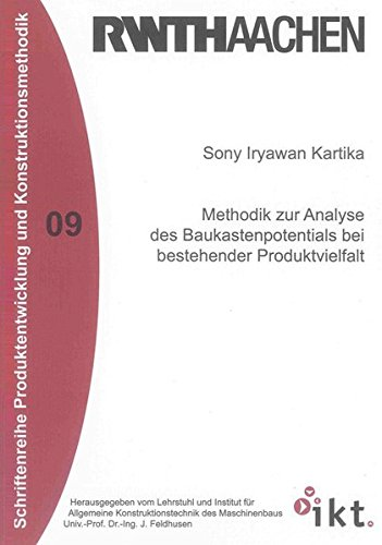 9783832291143: Methodik zur Analyse des Baukastenpotentials bei bestehender Produktvielfalt