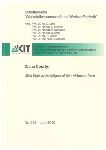 Ultra high cycle fatigue of thin Al-based films: Diana Courty