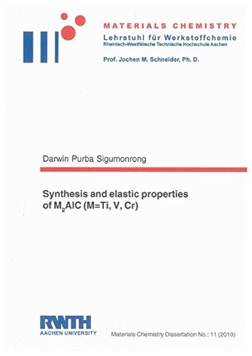 Synthesis and elastic properties of M2AlC (M=Ti, V, Cr): Darwin P Sigumonrong