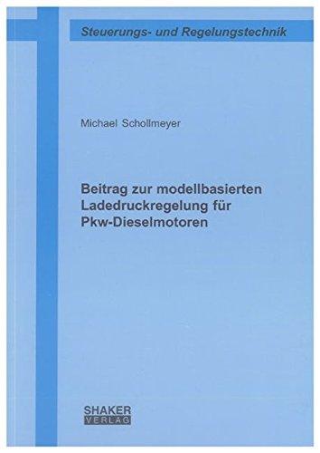 9783832293369: Beitrag zur modellbasierten Ladedruckregelung für Pkw-Dieselmotoren
