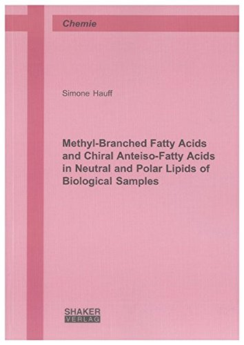 Methyl-Branched Fatty Acids and Chiral Anteiso-Fatty Acids in Neutral and Polar Lipids of ...
