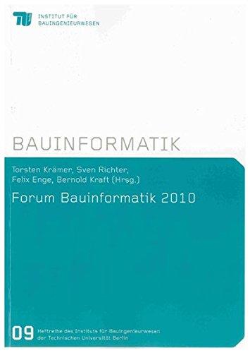 Forum Bauinformatik 2010: Torsten Krämer