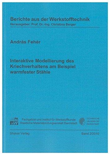 Interaktive Modellierung des Kriechverhaltens am Beispiel warmfester Stähle: András Fehér