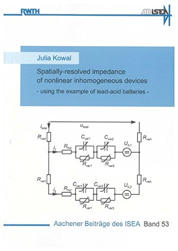 Spatially-resolved impedance of nonlinear inhomogeneous devices: Julia Kowal