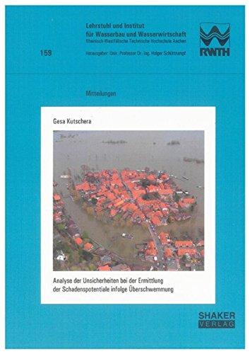 Analyse der Unsicherheiten bei der Ermittlung der Schadenspotentiale infolge Überschwemmung: ...