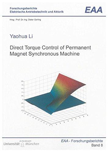 Direct Torque Control of Permanent Magnet Synchronous Machine: Yaohua Li