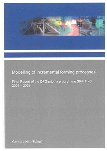 Modelling of incremental forming processes: Gerhard Hirt
