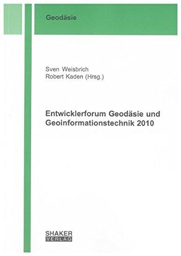 Entwicklerforum Geodäsie und Geoinformationstechnik 2010: Sven Weisbrich