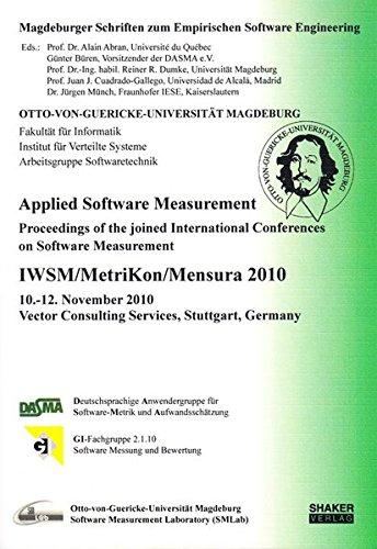 Applied Software Measurement: Alain Abran