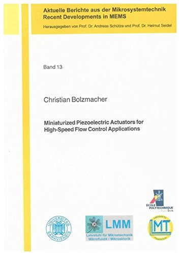Miniaturized Piezoelectric Actuators for High-Speed Flow Control Applications: Christian Bolzmacher