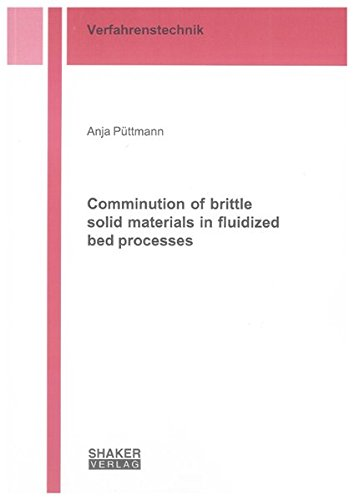 Comminution of brittle solid materials in fluidized bed processes: Anja Püttmann