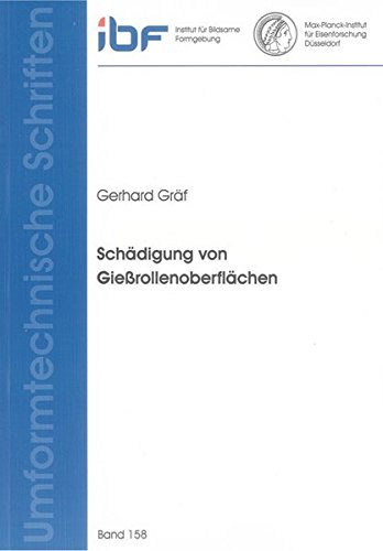 Schädigung von Gießrollenoberflächen: Gerhard Gräf