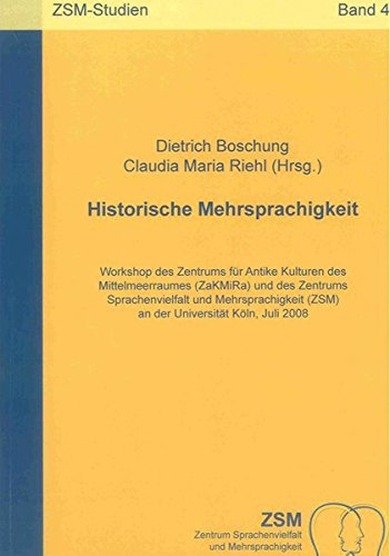 Historische Mehrsprachigkeit: Dietrich Boschung