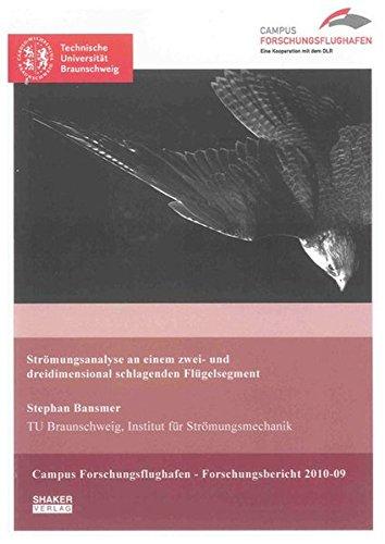 Strömungsanalyse an einem zwei- und dreidimensional schlagenden Flügelsegment: Stephan ...