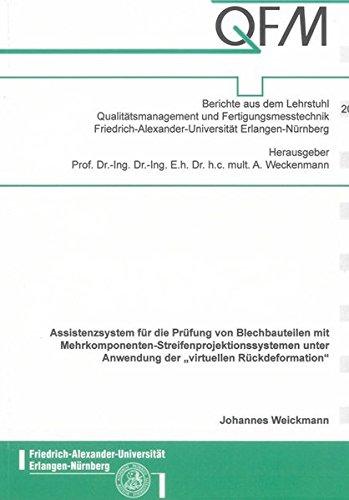 Assistenzsystem für die Prüfung von Blechbauteilen mit ...