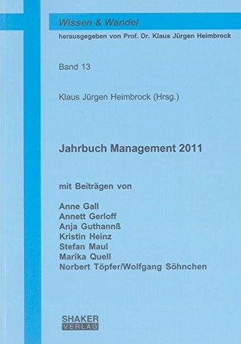 Jahrbuch Management 2011: Klaus J�rgen Heimbrock