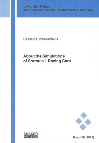 About the Simulations of Formula 1 Racing Cars: Basileios Mavroudakis
