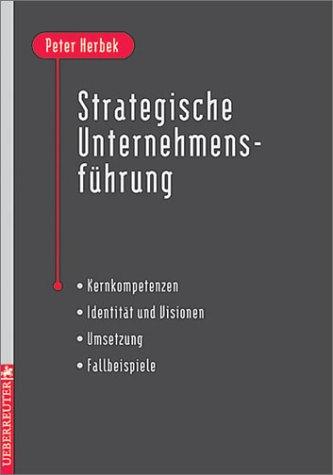 9783832306496: Strategische Unternehmensführung
