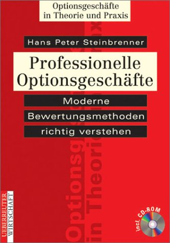 9783832307240: Professionelle Optionsgeschäfte, m. CD-ROM