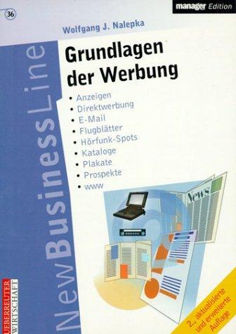 9783832307356: Grundlagen der Werbung (Livre en allemand)