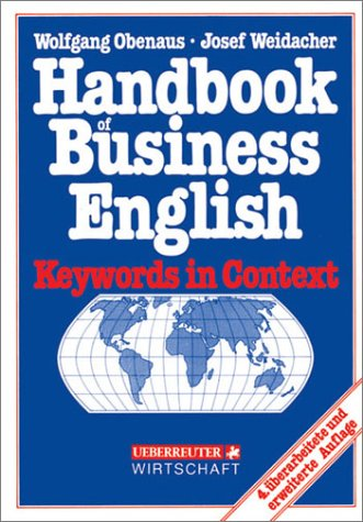 9783832391218: Handbook of Business English. Keywords in Context.