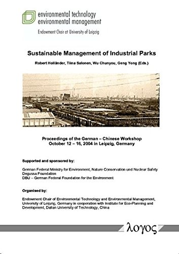 Sustainable Management of Industrial Parks (3832510818) by Robert Holländer