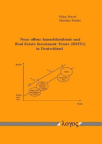 9783832512583: Neue Offene Immobilienfonds Und Real Estate Investment Trusts (Reits) in Deutschland (German Edition)