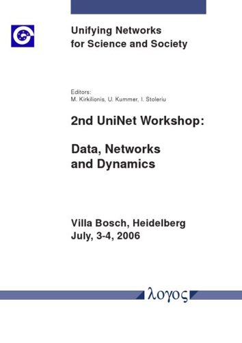9783832513085: 2nd UniNet Workshop: Data, Networks and Dynamics