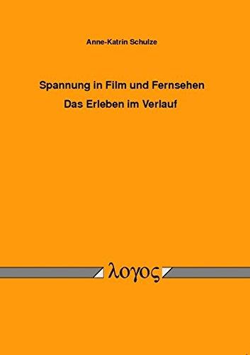 9783832513689: Spannung in Film und Fernsehen - Das Erleben im Verlauf