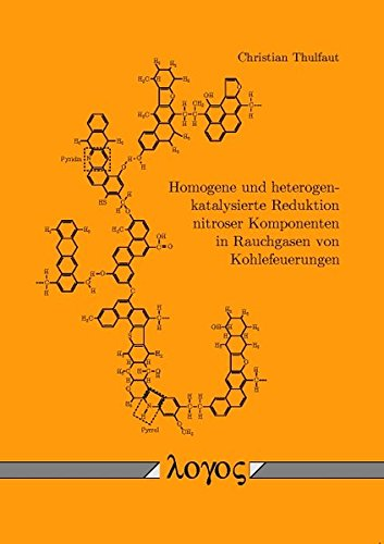 9783832515270: Homogene Und Heterogen-Katalysierte Reduktion Nitroser Komponenten in Rauchgasen Von Kohlefeuerungen (German Edition)