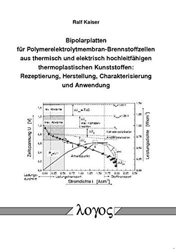 9783832520335: Bipolarplatten Fur Polymerelektrolytmembran-brennstoffzellen Aus Thermisch Und Elektrisch Hochleitfahigen Thermoplastischen Kunststoffen: Rezeptierung, Herstellung, Charakterisierung Und Anwendung