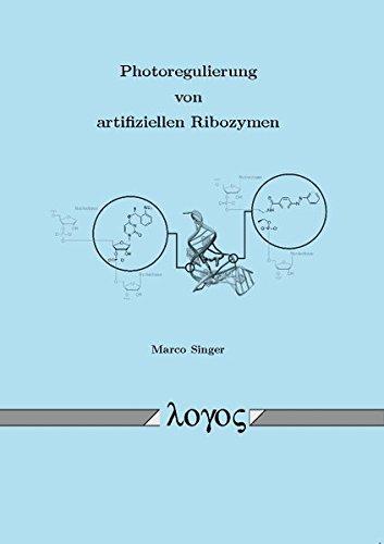 9783832526498: Photoregulierung Von Artifiziellen Ribozymen