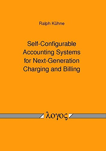 9783832529246: Self-configurable Accounting Systems for Next-generation Charging and Billing