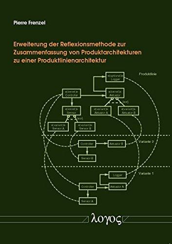 9783832536282: Erweiterung der Reflexionsmethode zur Zusammenfassung von Produktarchitekturen zu einer Produktlinienarchitektur