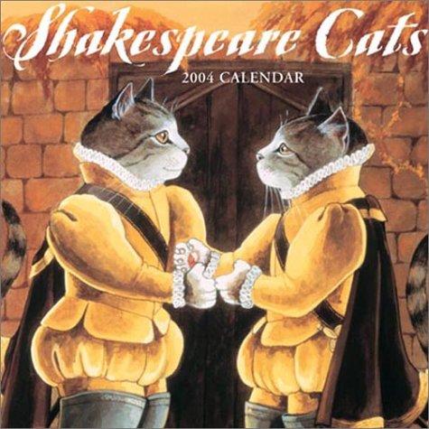 9783832701994: Shakespeare Cats 2004 Calendar