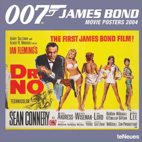 9783832702199: James Bond Movie Posters 2004 Calendar