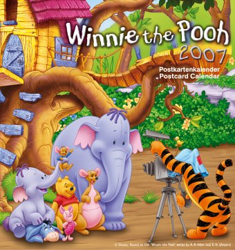 9783832707811: Winnie the Pooh 2005. Postkartenkalender