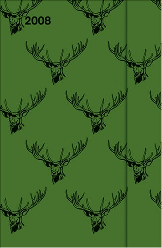 9783832723187: Deer Pattern 2008 Diary: Small Magnet