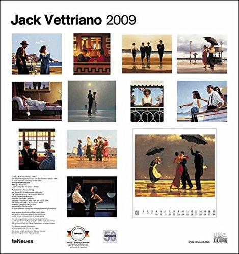 2009 Vettriano Poster Calendar