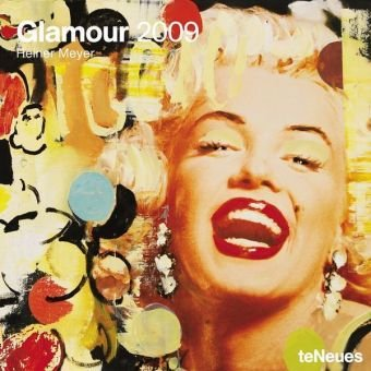 2009 Glamour Wall Calendar (Grid Calendar)