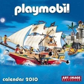 9783832731588: 2010 Playmobil A&I Grid Calendar (English, German, French, Italian, Spanish, Dutch and Russian Edition)
