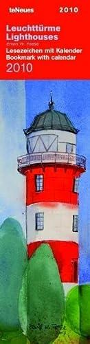 9783832739805: 2010 Lighthouses Bookmark Calendar